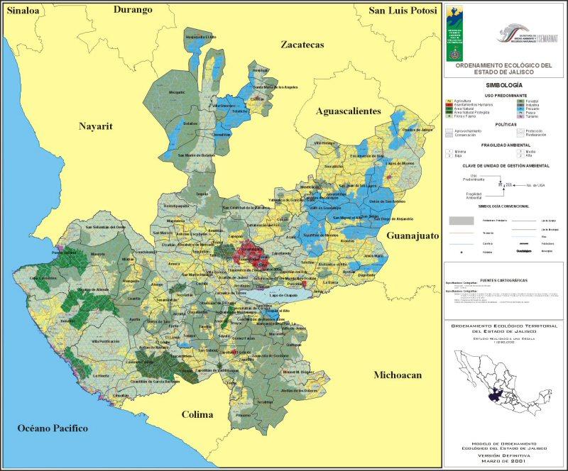 municipios de la region norte de jalisco: